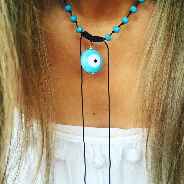 Skopelos Necklace (turquoise)