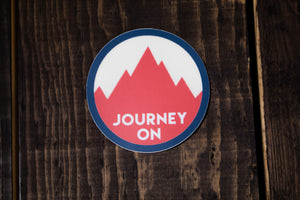 Journey On Sticker