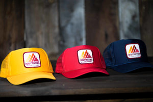 Retro Mountain Trucker (Gold)