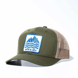 Mountain & Sea Olive Hat