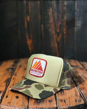 CAMO MOUNTAIN Trucker Hat