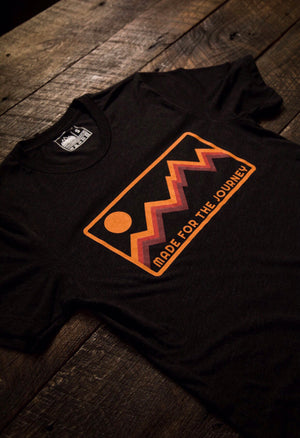 Journey Badge Tee (warm color way)
