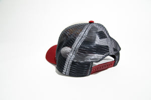 The Bison Trucker (Stone/Grey/Maroon)