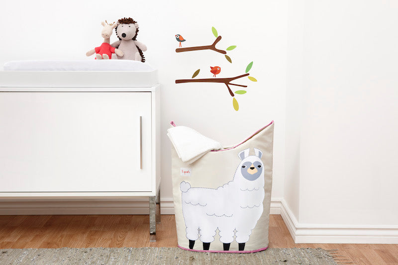 Llama Laundry Hamper-Watermelon Warehouse