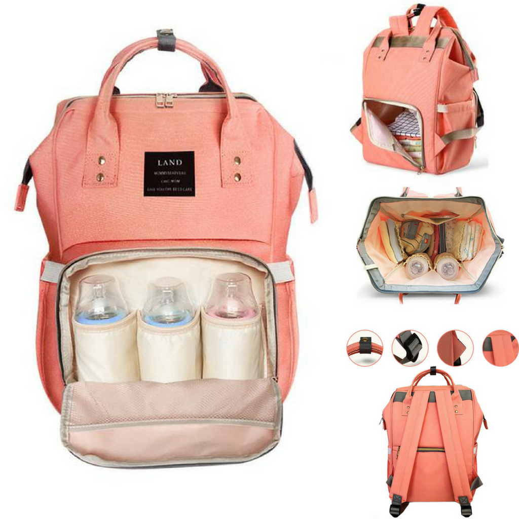 Diaper Bag Backpack-Watermelon Warehouse