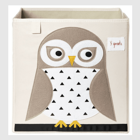 Owl Storage Box-Watermelon Warehouse