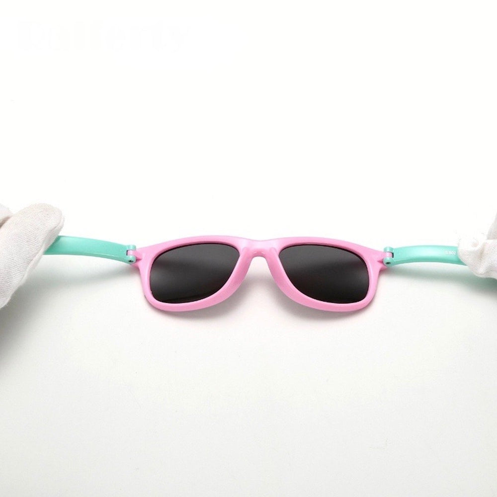 Polarized Flexible Kids Sunglasses-Watermelon Warehouse