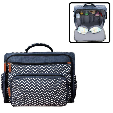 City Denim Diaper Bag