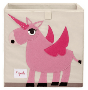 Unicorn Storage Bin-Watermelon Warehouse