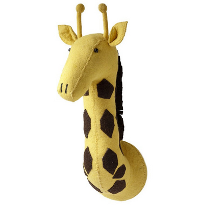 Fiona Walker Giraffe Head Mount-Watermelon Warehouse