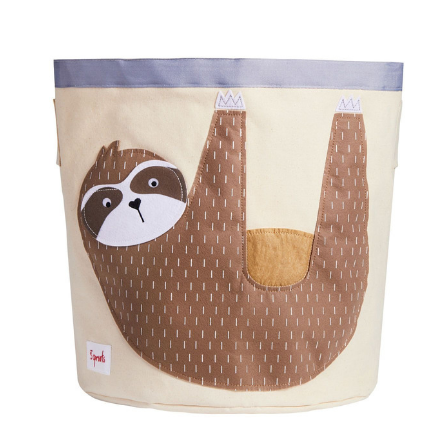 Sloth Storage Bin-Watermelon Warehouse