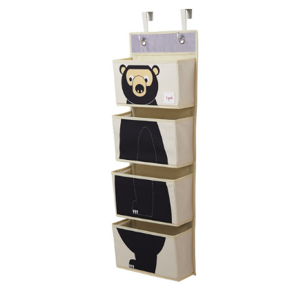 Bear Hanging Wall Organizer-Watermelon Warehouse