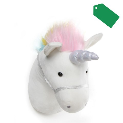 Gund®️ Unicorn Head Décor