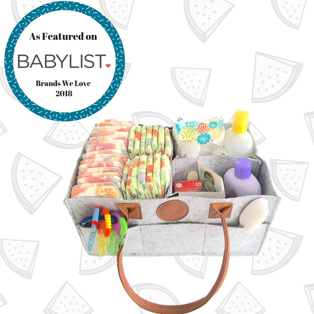 Diaper Caddy-Watermelon Warehouse