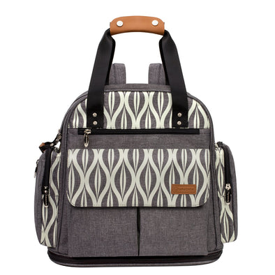 Pattern Expandable Diaper Bag