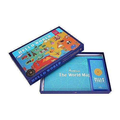 Hello World! Magnetic World Map