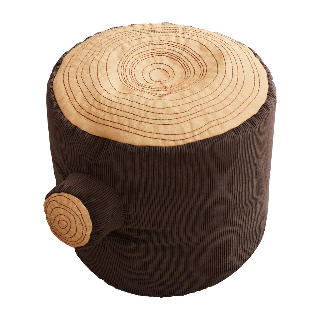 Tree Stump Pouf