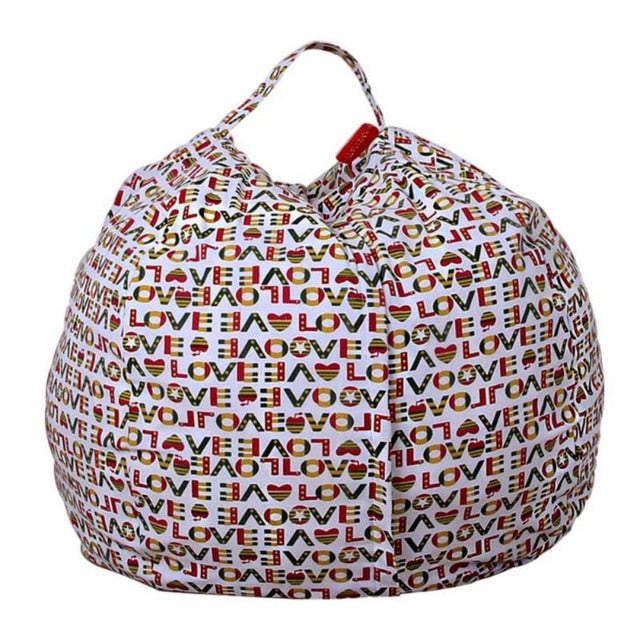 Toys Storage Bean Bag Chair-Watermelon Warehouse