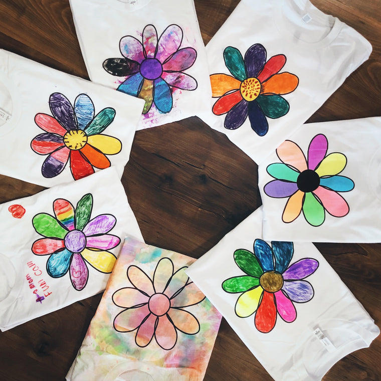 DIY Flower Tees