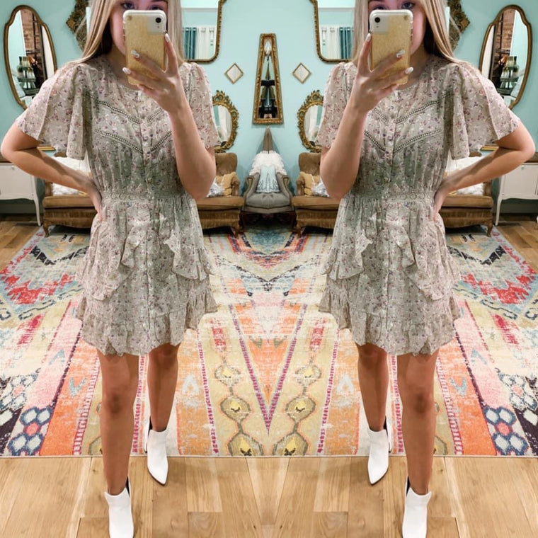 Bloom Envy Ruffle Dress