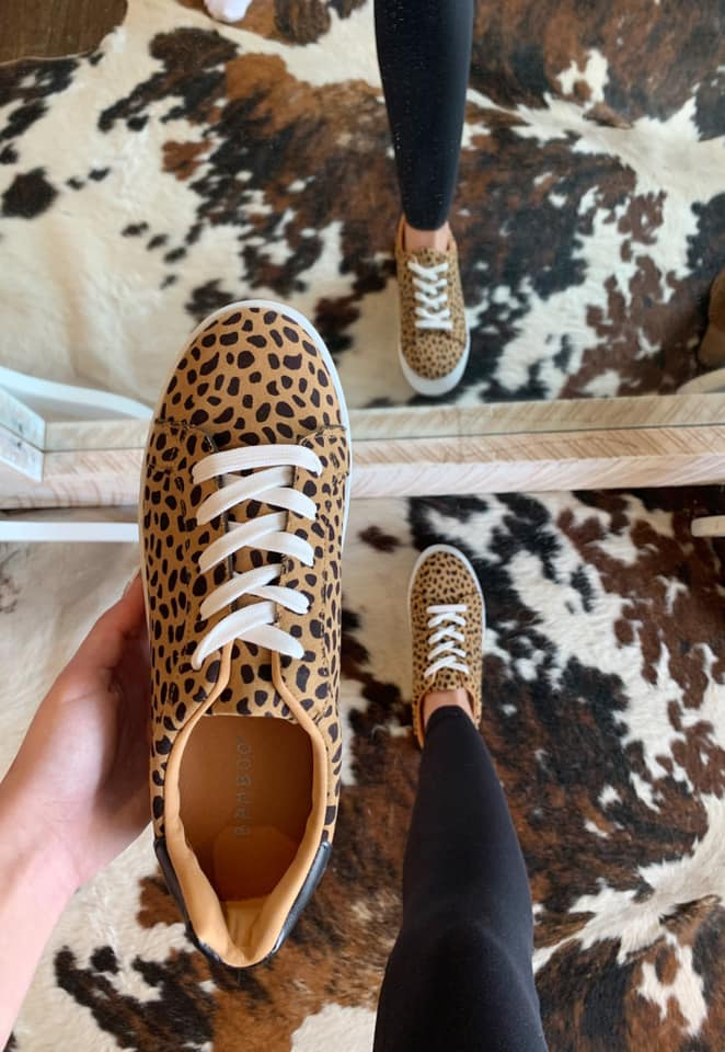 Dream Sneakers Leopard