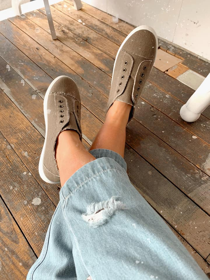 The Bailey Sneakers Taupe