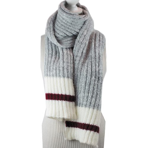Light Grey Work Scarf