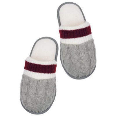 Cable Knit Slippers