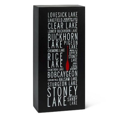 Kawartha Lake Names Block