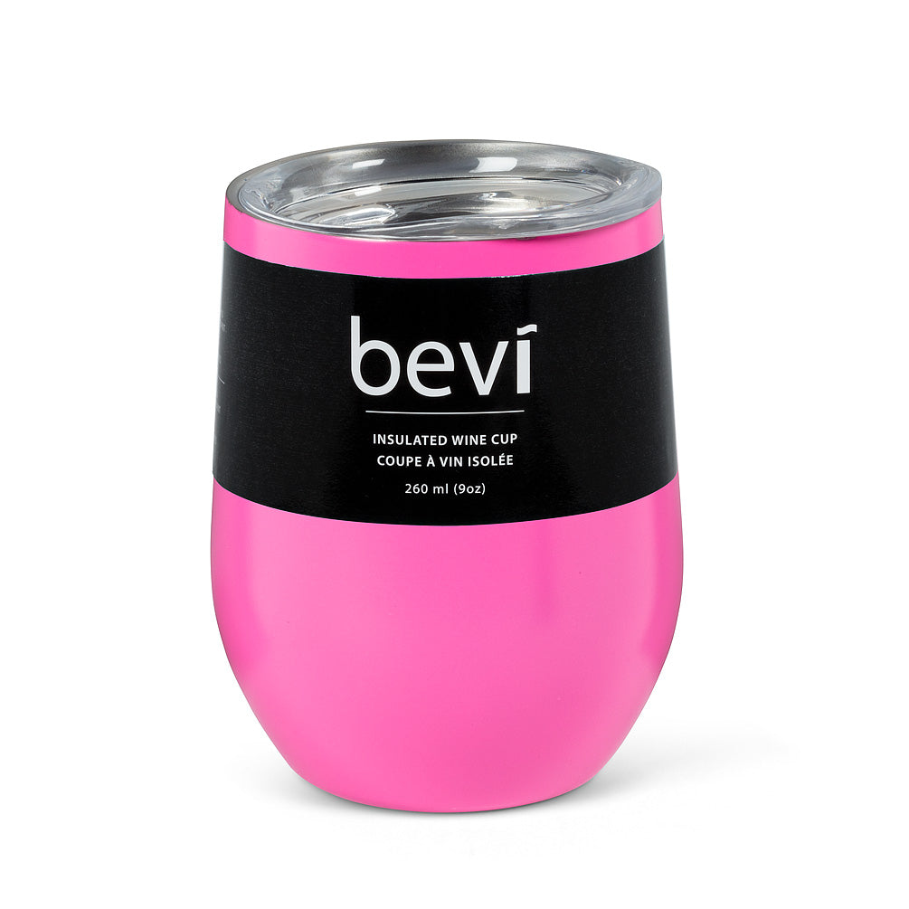 Pink Insulated Wine Tumbler