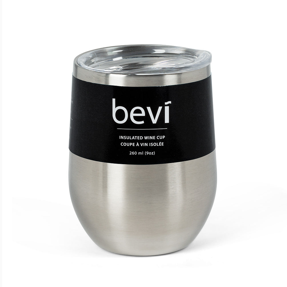 Silver Insulated Wine Tumbler