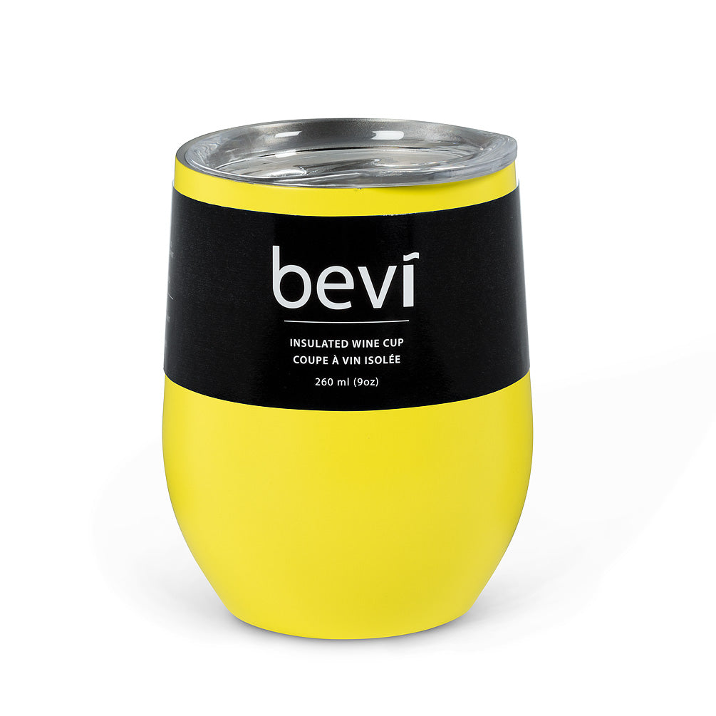 Yellow Insulated Wine Tumbler