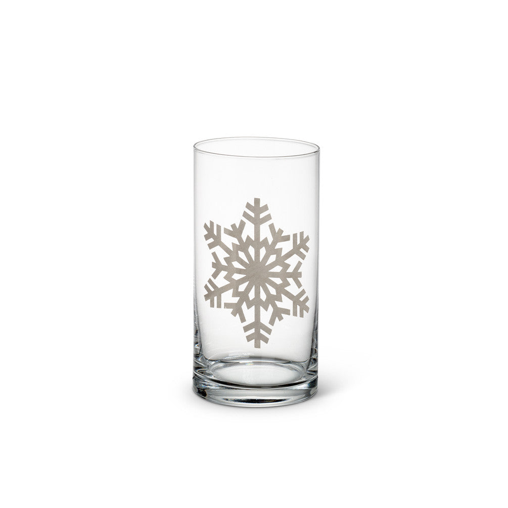 Snowflake Glass
