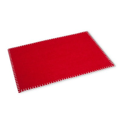 Red Table Mat