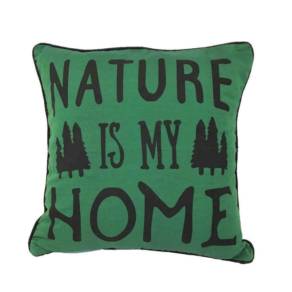 Nature is my home pillow