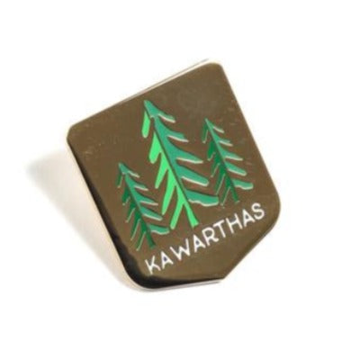 Kawartha Tree Pin