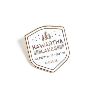 Kawartha Shield Pin