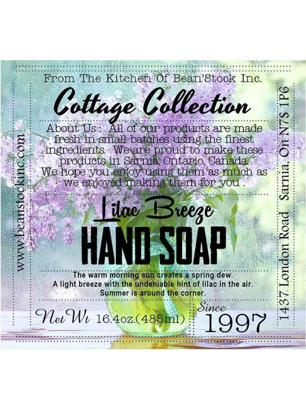 Lilac Hand Soap