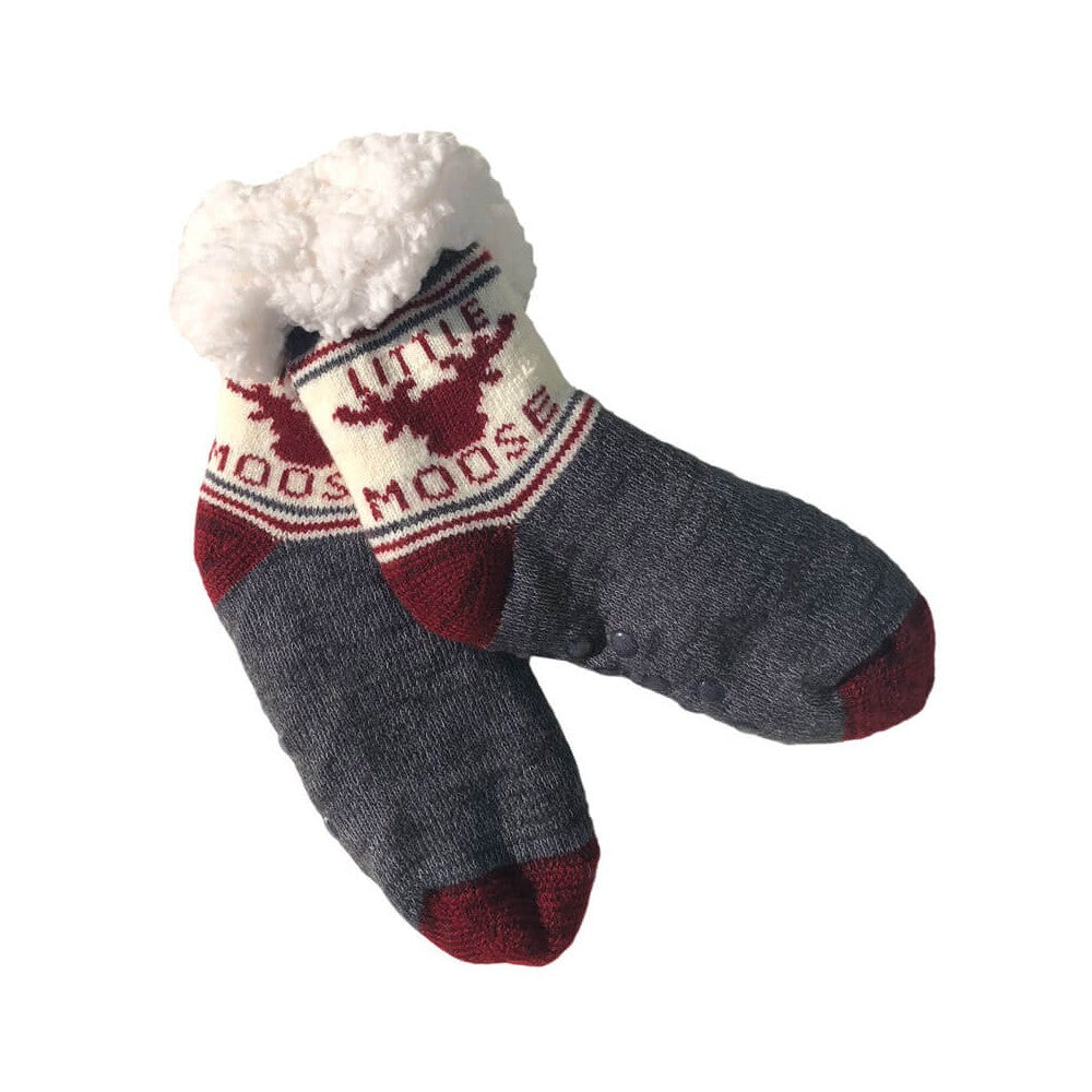 Little Moose Fleece Socks