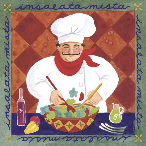 INSALATA MISTA By Jennifer Brinley-Art Print-Style Home Art
