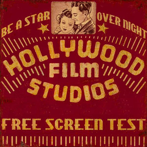 HOLLYWOOD FILM STUDIOS By Bruce Jope-Art Print-Style Home Art