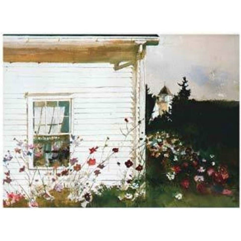 AROUND THE CORNER By Andrew Wyeth-Art Print-Style Home Art