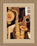 ABSTRACT SAX By Paul Brent-Art Print-Style Home Art
