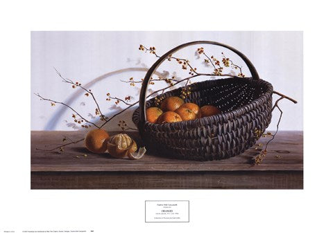 ORANGES BY Pauline Campanelli-Art Print-Style Home Art