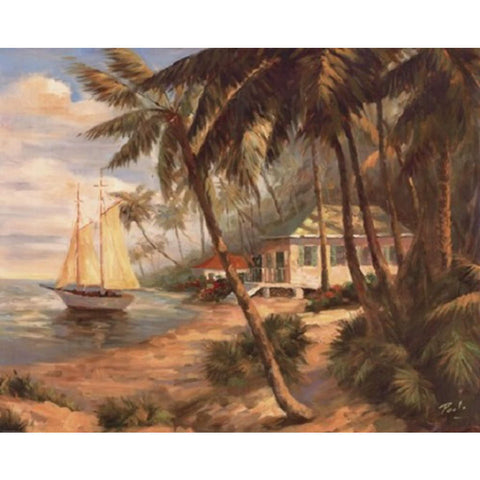 KEY WEST HIDEAWAY By Enrique Bolo-Art Print-Style Home Art