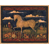 FARMHOUSE HORSE By Susan Winget-Art Print-Style Home Art