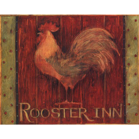 ROOSTER INN By Susan Winget-Art Print-Style Home Art