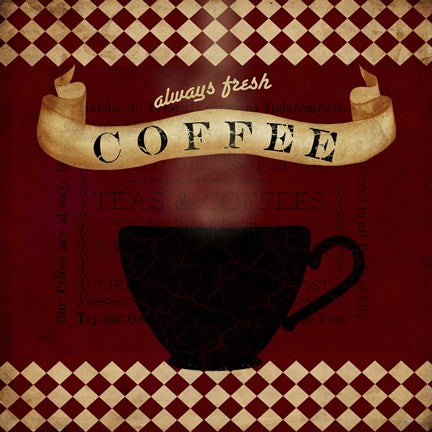 COFFEE RED ALWAYS FRESH By Beth Albert