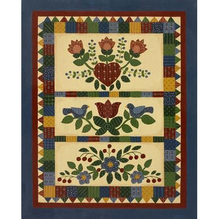 FLOWER QUILT II By Debbie McMaster