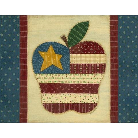 APPLE FLAG By Debbie McMaster